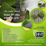 Launched Grass DIY tiles which are interlockable
